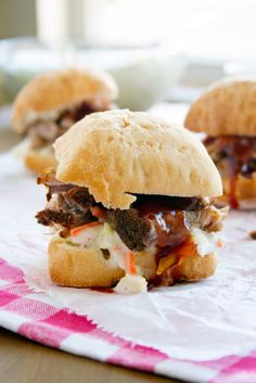 Slow cooker pulled pork: http://www.stylemepretty.com/living/2015/04/23/18-spring-slow-cooker-recipes-you-need-right-now/