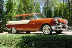 1957 Pontiac Safari - I could drive this in the fall!