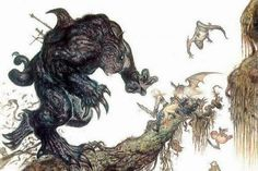 Final fantasy vi yoshitaka amano artwork wallpaper - (#183444) - High Quality and Resolution Wallpapers on hqWallbase.com