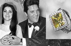 Priscilla Presley Engagement Ring