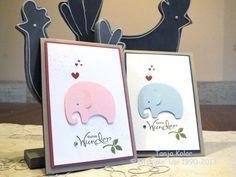 Baby Karten: Clean & Simple