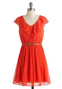 Ruffles Dress - Plus Size