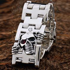 Wholesale 925 Sterling Silver Seven O Unisexe Cuff Bangle Bracelet GB013