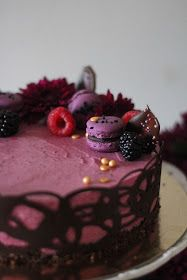 KakkuKatri: Mustaherukkajuustokakku