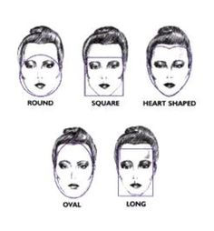 Find the Right Hairstyle for your Face shape.
