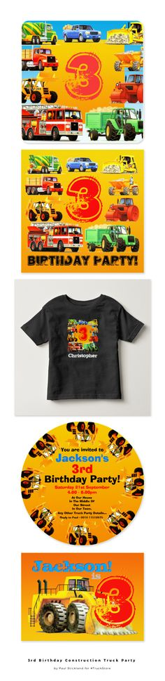 3rd Birthday Ideas