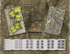 Rhipidate-tange patterns