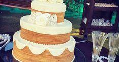 Bolos de rolo e de noiva se unem e fazem sucesso em casamentos