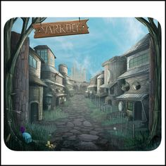 RuneScape - Varrock - Mousemat
