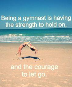 As a gymnast myself I fully support 100%