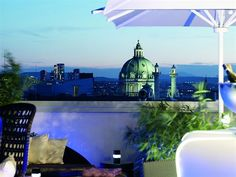 The Ritz-Carlton, Vienna-42 Rooftop Bar, Hotels And Resorts, Vienna, Europe, Luxury, End Of Summer, Perfect Place, Roof Deck, Champagne