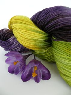 Kettle Dyed Yarn - Merino/Nylon Blend - Fingering Weight