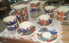 Mid Century Art Deco  Dinnerware GREAT LOOK!! by wrv-rwv