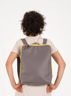 Red Women Backpack Formal Red Backpack Work Office Women   -  #womensbackpackDesigner #womensbackpackMen #womensbackpackWork Red Backpack, Leather Backpack, Designer Backpacks, Vegan, Formal, Trending Outfits, Bags, Etsy, Preppy