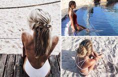 Η εποχή που η παραλία γίνεται το στέκι μας έφτασε. Είμαστε όμως γυναίκες και πρέπει να είμαστε πάντα όμορφες. Δείτε τα ιδανικά χτενίσματα για παραλία!