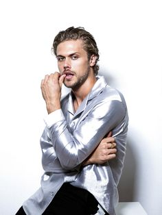 Christopher Mason by Jam Deluxe Male Fashion, Fashion Art, Emperors New Clothes, Match Me, Facial Hair, New Outfits, Blond, Hot Guys, Art Photography