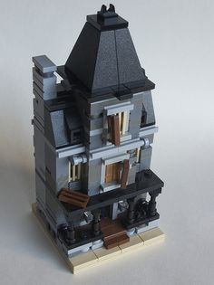 [MOC] Mini Modulares: Mini Haunted House y Mini Townhouse