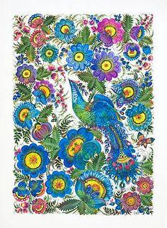 ©Petrykivka decorative painting as a phenomenon of the Ukrainian ornamental folk art© UNESCO