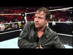 Dean Ambrose Returns to Raw and arguing with John Cena about Seth Rollin...