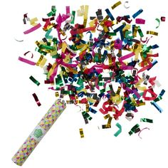 Confetti Cannon Boom shake shake shake the room! Get the party started by spraying the room in colour and fun with our giant confetti cannon! Paper Confetti, Foil Paper, Confetti Balloons, Confetti Ideas, Confetti Poppers, Party Poppers, Décoration Baby Shower, Sweet Party, Party Bunting