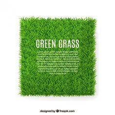 "top free vector art ""grass"" by Freepik 766251 - the most unbelievable 3D vector grass, blade by blade you've seen! ; ) - Freepik has serious talent : )"