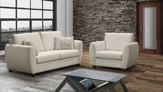 Made in Canada, the Texas sofa collection by Bugatti Design is offered in many fabric, leather and ultraleather choices.