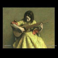 guitar Marius Marinescu 2021 Guitar, Music, Painting, Musica, Musik, Painting Art, Muziek, Paintings, Music Activities