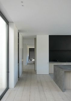 Long line with a visual accent at the end. V-T Residence by Vincent van Duysen.