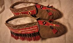 Quilled Moccasins