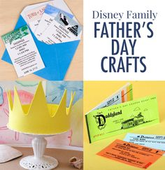 From Father's Day crafts and recipes to cards and printables, Disney Family has all your bases covered when it comes to celebrating Dad!