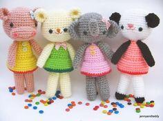 girlgang amigurumi crochet