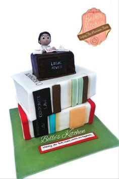 Advocate Cake By Belle's Kitchen, To Order Contact Our WA: 081294055786, Line: Bellekitchen, Also Be Sure To Follow Our Instagram @belle_kitchen
