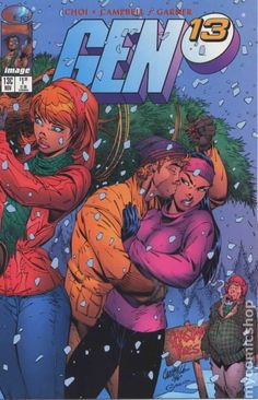 Gen 13 (1995 2nd Series) 13CH Image Comics book covers Modern Age