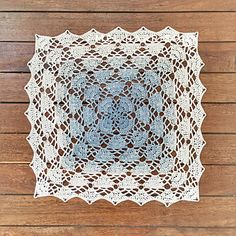 Gatsby Square Repeatable Round - free crochet to any size pattern by Mel Harrison.