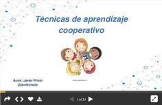 """Hola: Compartimos una interesante presentación sobre """"Técnicas para Abordar el Aprendizaje Cooperativo"""" Un gran saludo.  Visto en: slideshare.net Acceda a la presentación desde: AQUÍ  T..."""