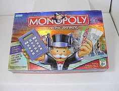Monopoly ELECTRONIC BANKING EDITION Board Game 2007 P Bros 100% Complete - http://hobbies-toys.goshoppins.com/games/monopoly-electronic-banking-edition-board-game-2007-p-bros-100-complete/