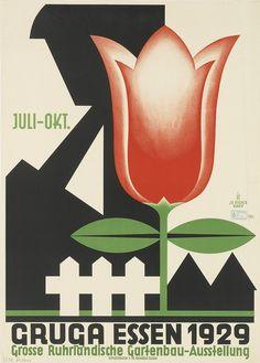 JO PIEPER (1873-1971) GRUGA ESSEN 1929