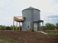 Resultado de imagen de Houses Made From Grain Bins
