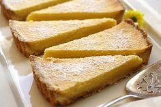 Saving room for dessert: Meyer Lemon Tart