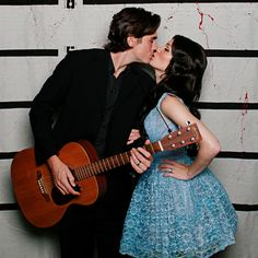 This post has some pretty creative halloween costumes. I particularly like Johnny and June.