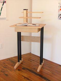 Thank-you Desk/Standing Desk. $840.00, via Etsy.