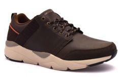 SKECHERS 65687 CHOC MARRONE Sneakers Stringata Sportiva Lacci Scarpe Pelle  Nabuk Uomo Invernali collezione autunno inverno a2f2e47af89
