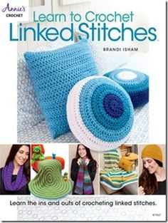 """Read """"Learn to Crochet Linked Stitches"""" by Brandi Isham available from Rakuten Kobo. New techniques are always fun to learn. Designer Brandi Isham will teach you all of the ins and outs of crocheting linke. Annie's Crochet, Manta Crochet, Tunisian Crochet, Crochet Home, Learn To Crochet, Crochet Stitches, Baby Afghan Crochet Patterns, Crochet Pillow Pattern, Crochet Patterns For Beginners"""