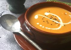 Βελουτέ κολοκυθόσουπα συνταγή από Nikis_food - Cookpad Fondue, Cheese, Ethnic Recipes, Essen