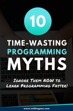 These common coding myths can hold you back from learning how to code. Find out which 10 coding myths you can ignore right off the bat. Learn Coding Online, Learn Computer Coding, Learn Computer Science, Computer Programming Languages, Learn Programming, Python Programming, Coding Websites, Coding For Beginners, Learning Web