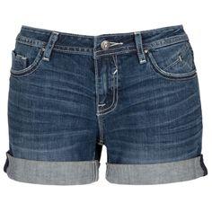 Vigoss Juniors Cuffed Jean Short with Nested Pockets #VonMaur #Cuffed
