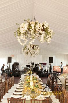 Floral Chandeliers, Wine Country Flowers, Viansa Winery