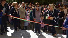 Inaugurazione della scuola Aldisio