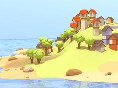 Island WIP by Timothy J. Reynolds