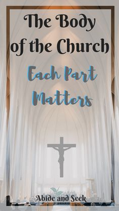 The Body of the Church: Each Part Matters - Abide and Seek New Year Verses, Bible Quotes, Bible Verses, Christian Living, Christian Women, Jesus Christ, Great Gifts, Relationship, Ministry Ideas